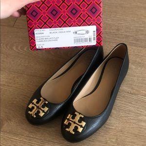 Tory Burch Shoes - Tory Burch Black Claire Ballet Flat